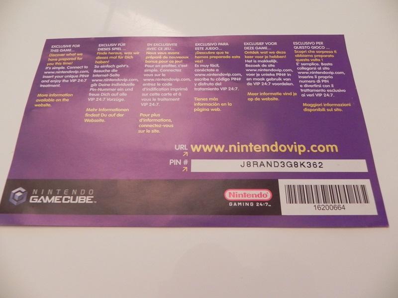 Luigi's Mansion carte VIP Dscn2168