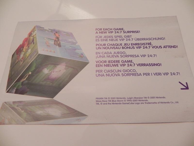 Luigi's Mansion carte VIP Dscn2170