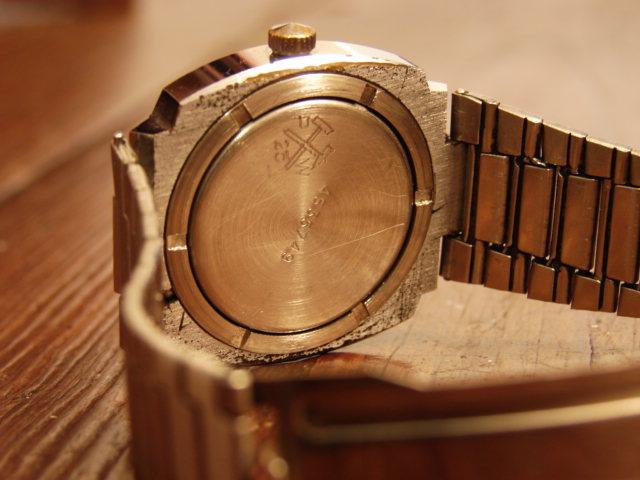 VENDS Poljot forme coussin bracelet siglé d'origine 49 € Dsc00511