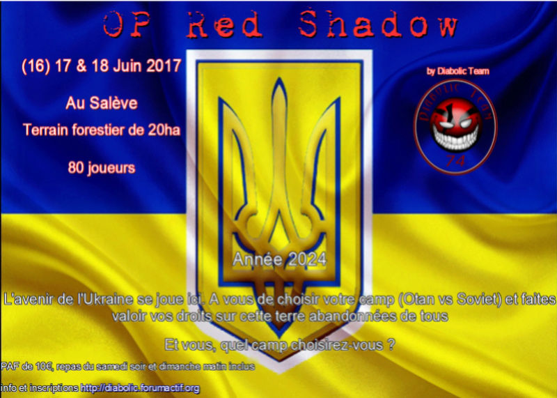 OP red shadow 2017, 17 Juin By Diabolic Team Sans_t13