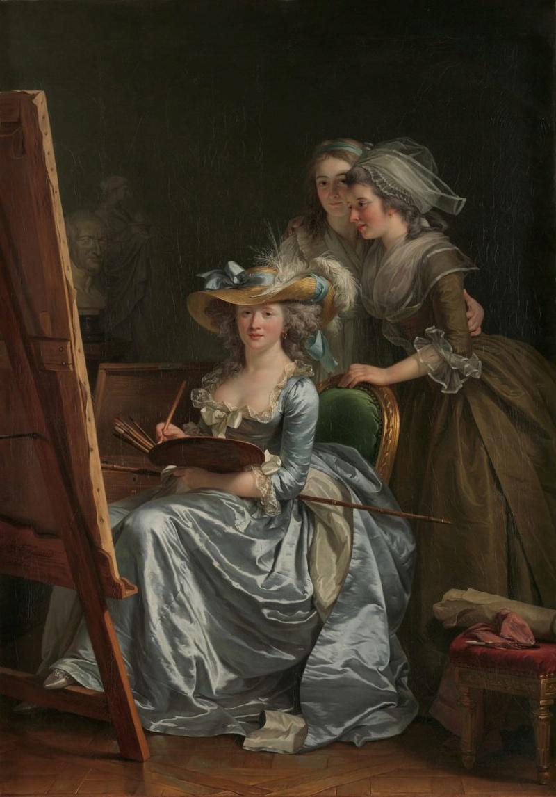 Autoportraits de femmes peintres du XVIIIe siècle Autopo10