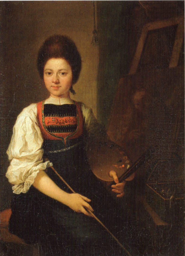 Autoportraits de femmes peintres du XVIIIe siècle Autopo11