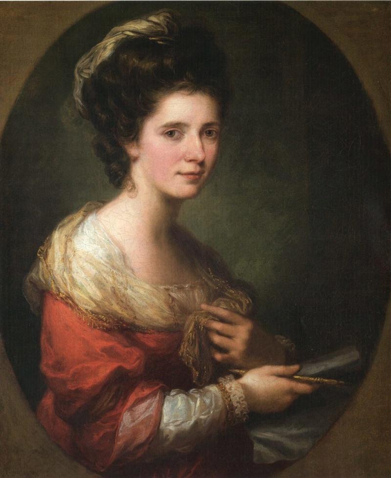 Autoportraits de femmes peintres du XVIIIe siècle Autopo12