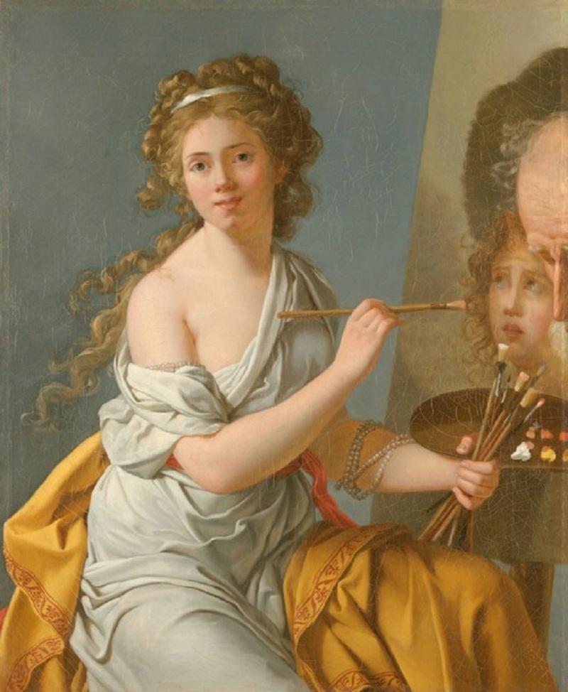 Autoportraits de femmes peintres du XVIIIe siècle Autopo14