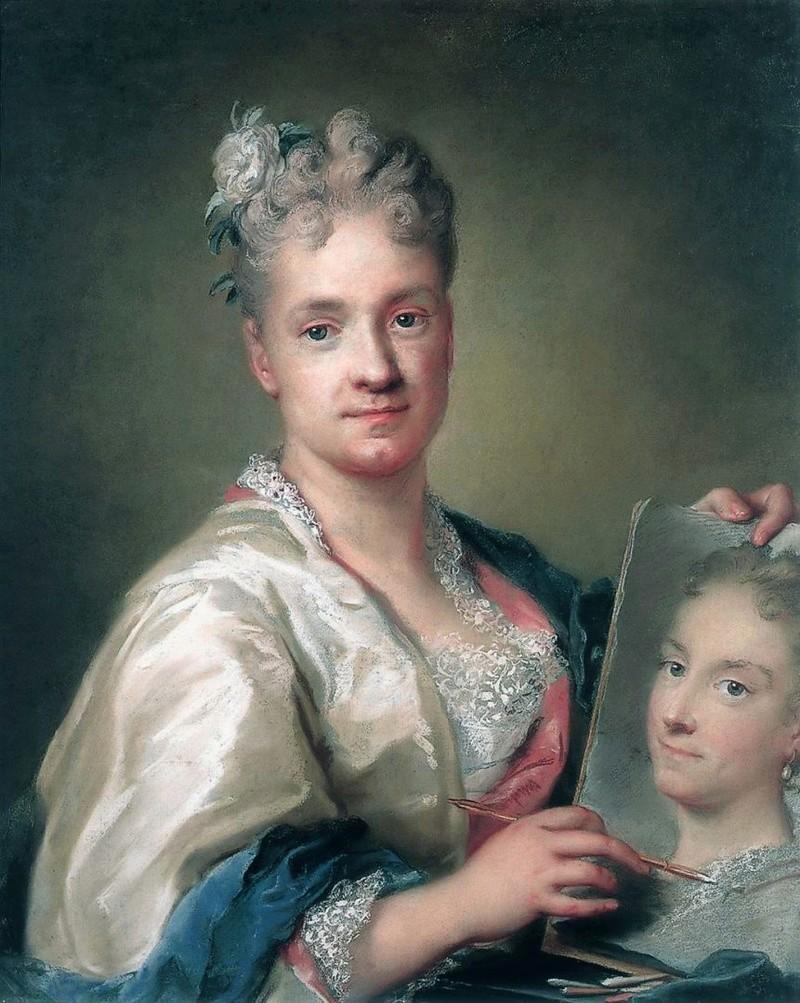 Autoportraits de femmes peintres du XVIIIe siècle Autopo15