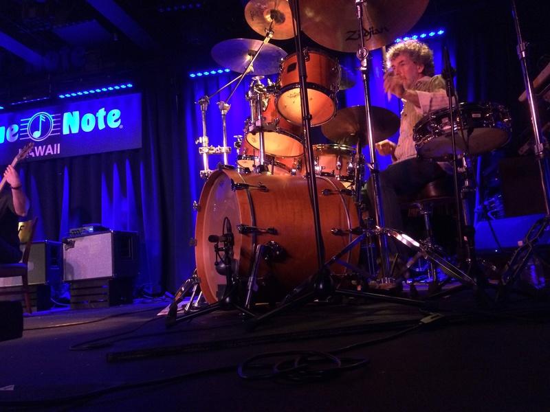 Live Blue Note Hawaii_Simon Philips/Heromi Img_0310