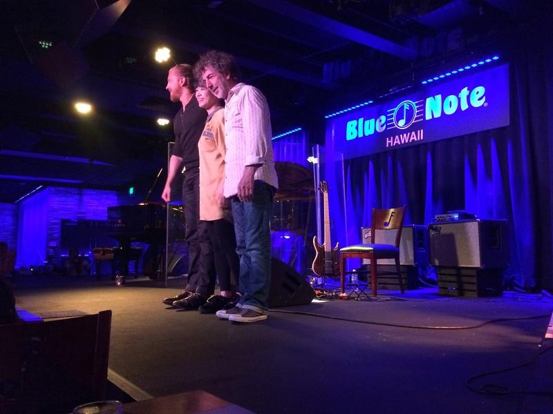 Live Blue Note Hawaii_Simon Philips/Heromi Img_0311