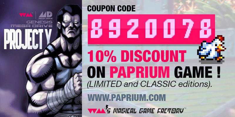 PAPRIUM (ex Project Y), nouveau Street Of Rage like sur Megadrive  Papriu10