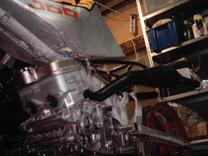 montage d'un 350 TZ, à partir d'un 350 RD 11-01-10