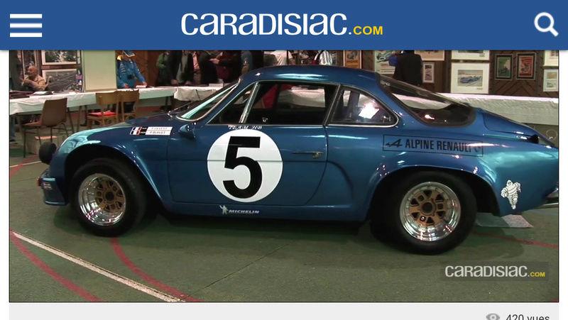 Rallye de l'ouest 1966 / 1967 C210
