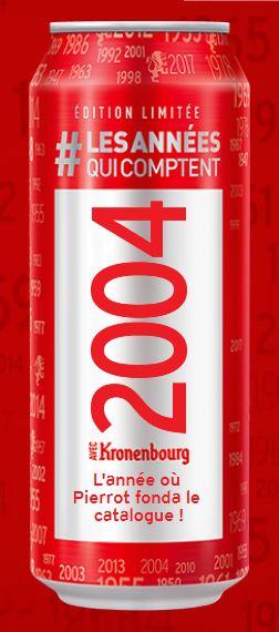 NOUVELLES CAPSULES KRONENBOURG ANNEES 1947-2017 200410