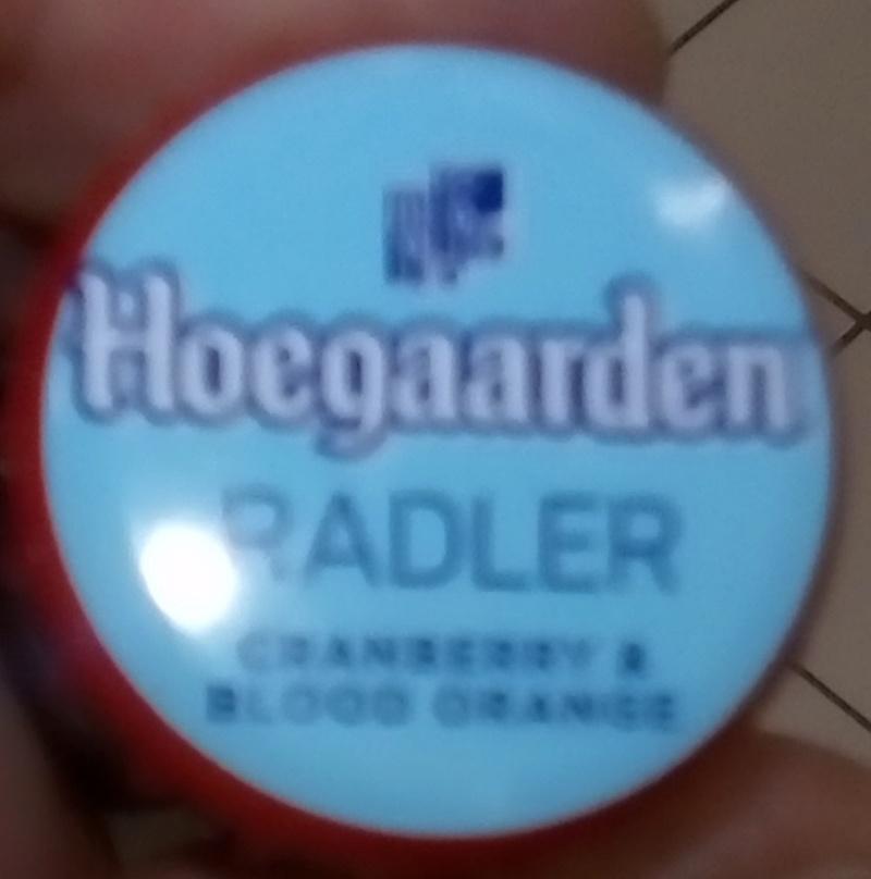 Hoegaarden Radler Cranberry & Blood Orange Hoegaa10