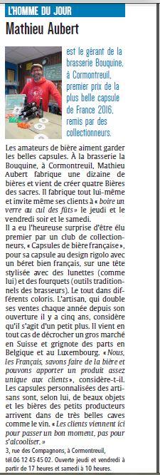 Remise du diplôme premier prix 2016 à la Bouquine - Page 2 Journa10