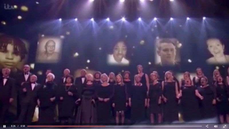 Missing child found after choir's Britain's Got Talent performance Screen12
