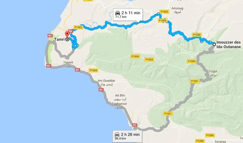 [A pied, à vélo, en voiture]  Traces GPS VTT Imouzz11