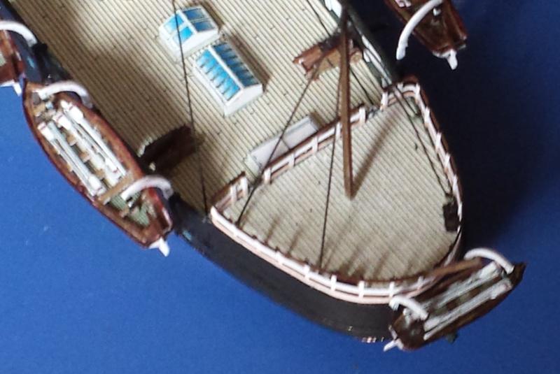 CORAZZATA - Corazzata Peruviana a torre HUASCAR - modello in carta terminato 20131120