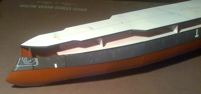 CORAZZATA - Corazzata russa IMPERATOR NIKOLAI I° - Cartamodello Nikola16
