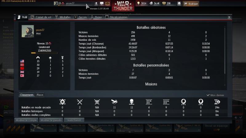 War thunder : le jeu / les avions. - Page 3 Shot_218