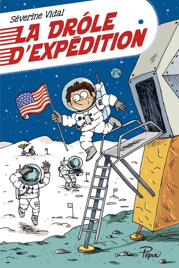 [Vidal, Séverine] La drôle d'expédition Couv-d10