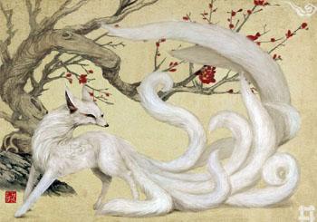 Kitsune. Whitef10