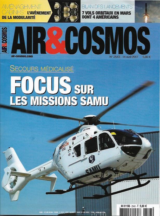 Air et Cosmos: FOCUS sur les missions SAMU Numeir10