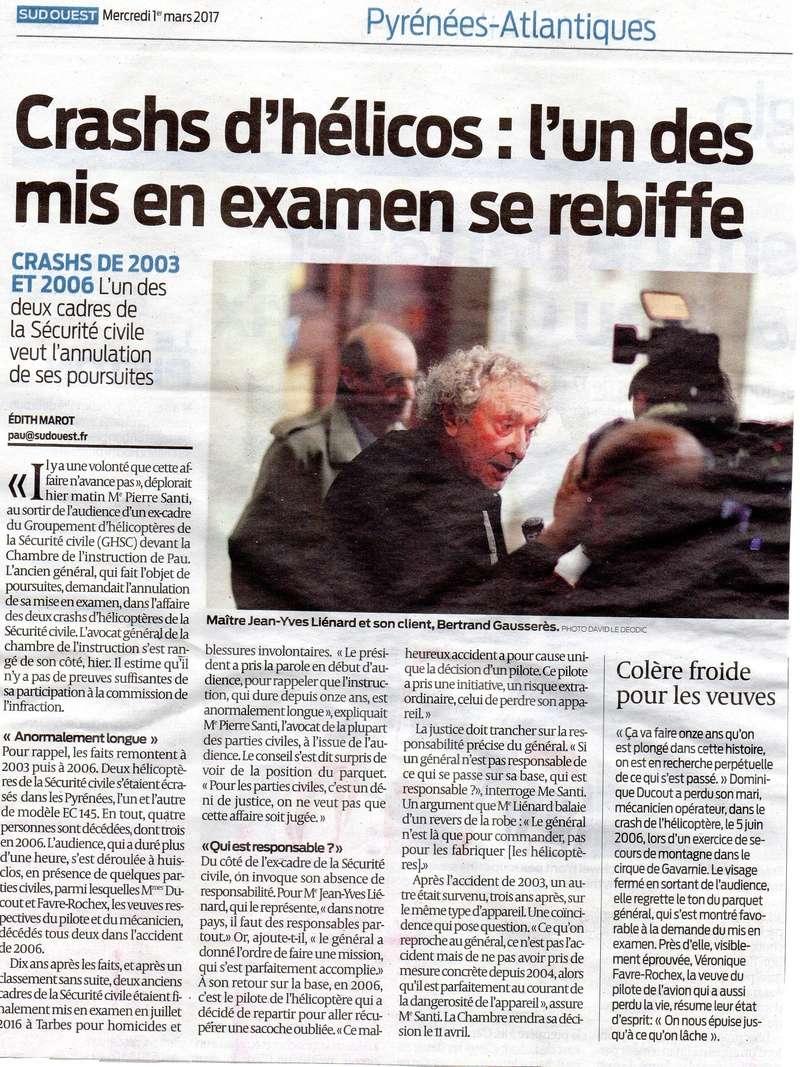 Crash d'un hélicoptère à Gavarnie en 2006 : la cour d'appel de Pau se prononcera le 11 avril. Sacn1310
