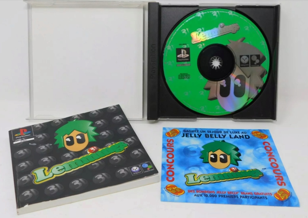 [RECH] 3D Lemmings PS1 ou PC BIG BOX 20200810