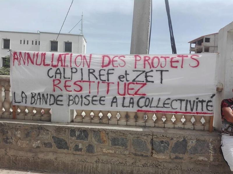 Marche à Aokas contre la destruction de la bande boisée le lundi 22 mai 2017 111