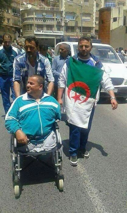 Rabhi Farouk, blessé de l'armée  120