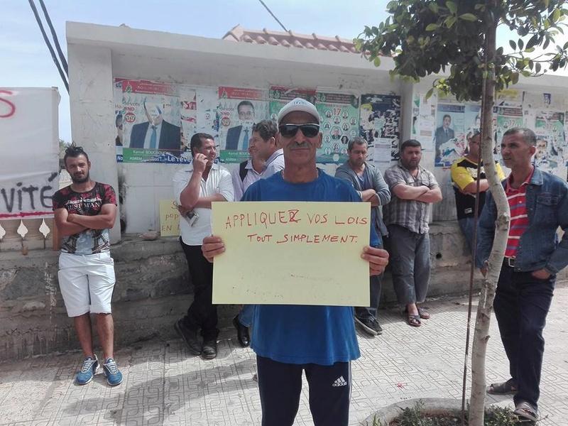 Marche à Aokas contre la destruction de la bande boisée le lundi 22 mai 2017 212