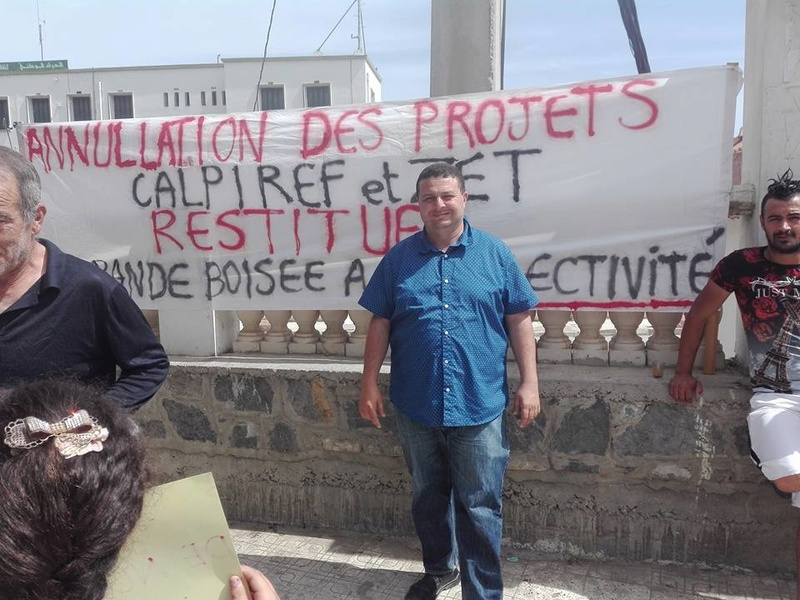 Marche à Aokas contre la destruction de la bande boisée le lundi 22 mai 2017 214