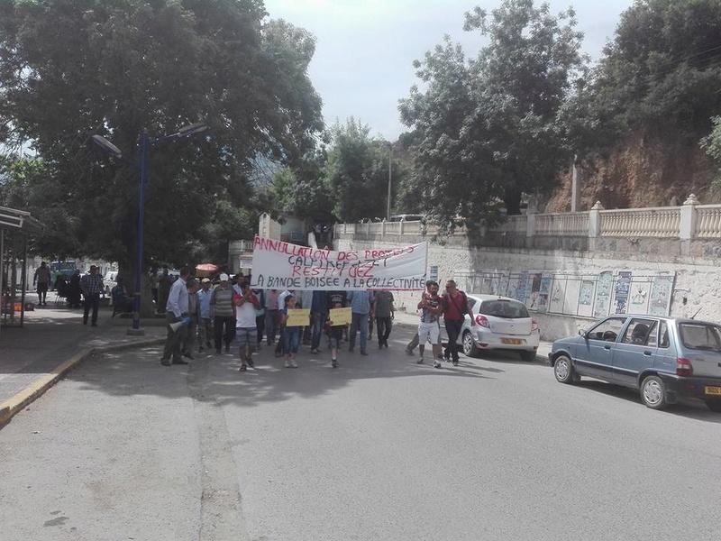 Marche à Aokas contre la destruction de la bande boisée le lundi 22 mai 2017 - Page 2 410