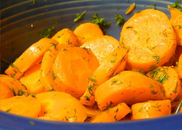 Saladinha de cenouras a Algarvia  Conser10