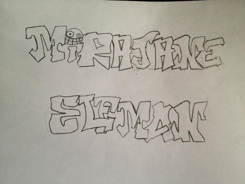 mes dessins enfin plutot mes tags Img_2411