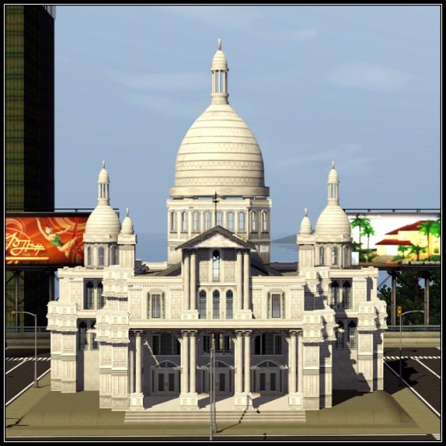 [Inspiration] [Sims 3] Eglises et cathédrales Tumblr11