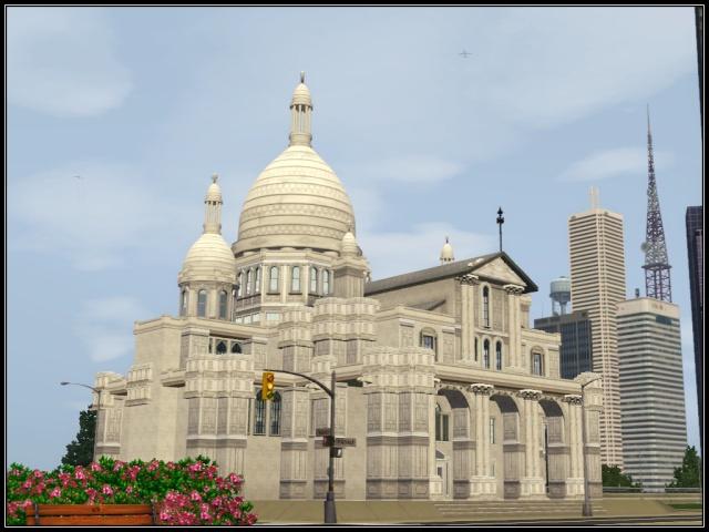 [Inspiration] [Sims 3] Eglises et cathédrales Tumblr12