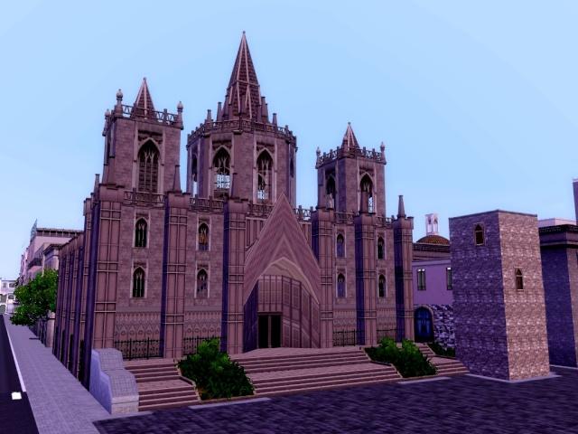 [Inspiration] [Sims 3] Eglises et cathédrales Tumblr13