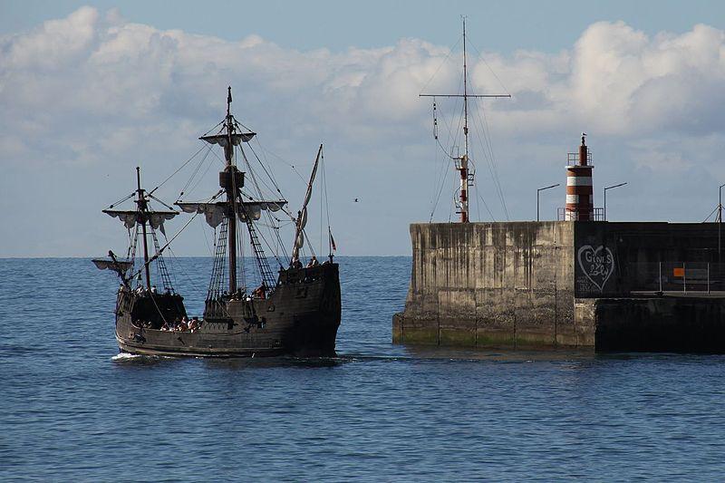 L'épave de la Santa María de Christophe Colomb aurait été retrouvée au large d'Haïti 800px-14