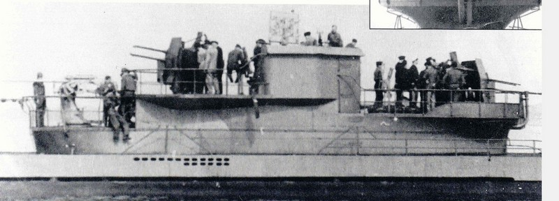 "Sous-marins anti-aériens ""U-Flak"" de la Kriegsmarine [2]. A134"