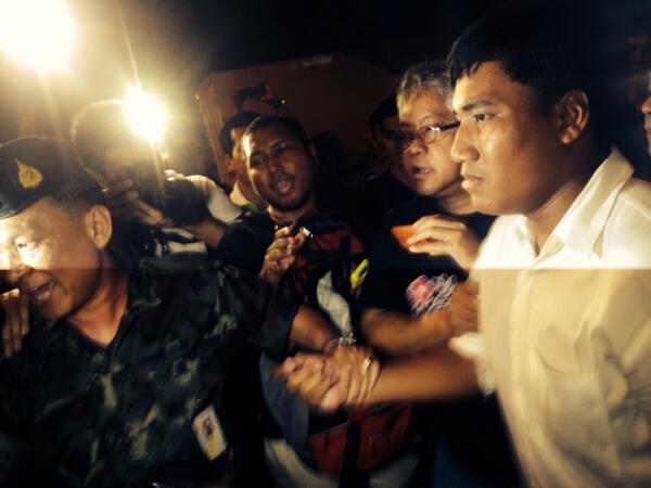 Loi martiale en Thailande A143