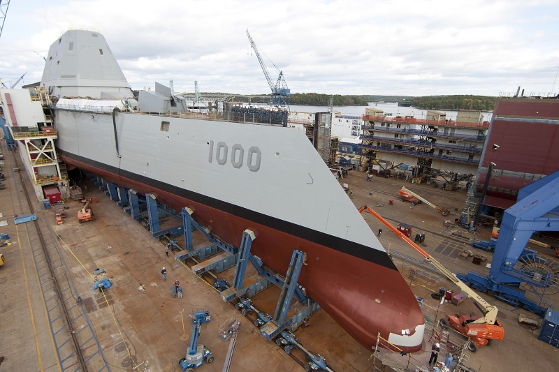 L'USS Zumwalt, le futur destroyer de la marine américaine A17