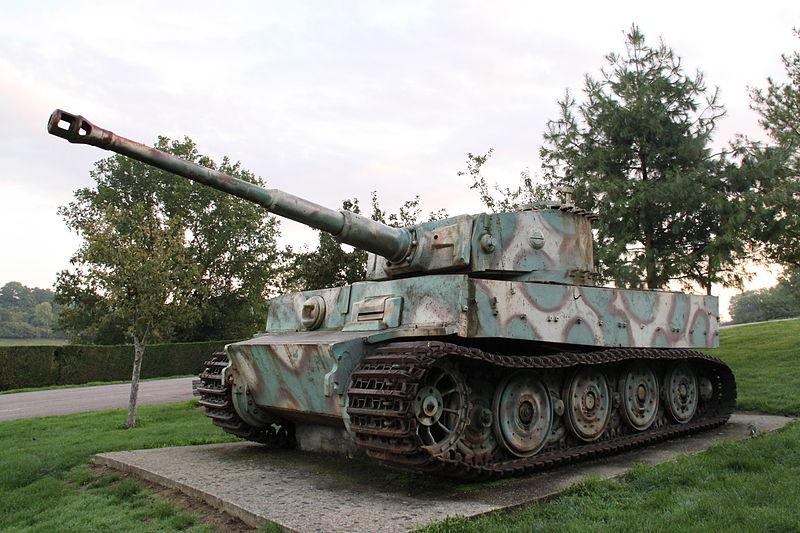 L'avenir du char Tigre de Vimoutiers interpelle jusqu'en Australie  A31