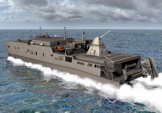 L'US Navy va tester un canon électro-magnétique à bord d'un navire en 2016 A57