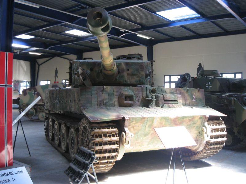 L'avenir du char Tigre de Vimoutiers interpelle jusqu'en Australie  A_410