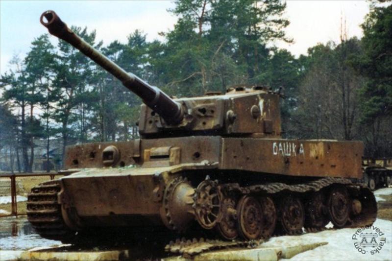 L'avenir du char Tigre de Vimoutiers interpelle jusqu'en Australie  A_tige10