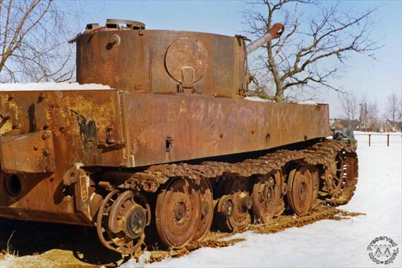 L'avenir du char Tigre de Vimoutiers interpelle jusqu'en Australie  A_tige11