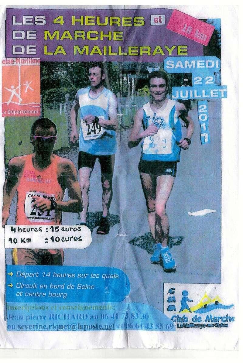22 juillet 4h et 10km marche de La Mailleraye  4h_de_11