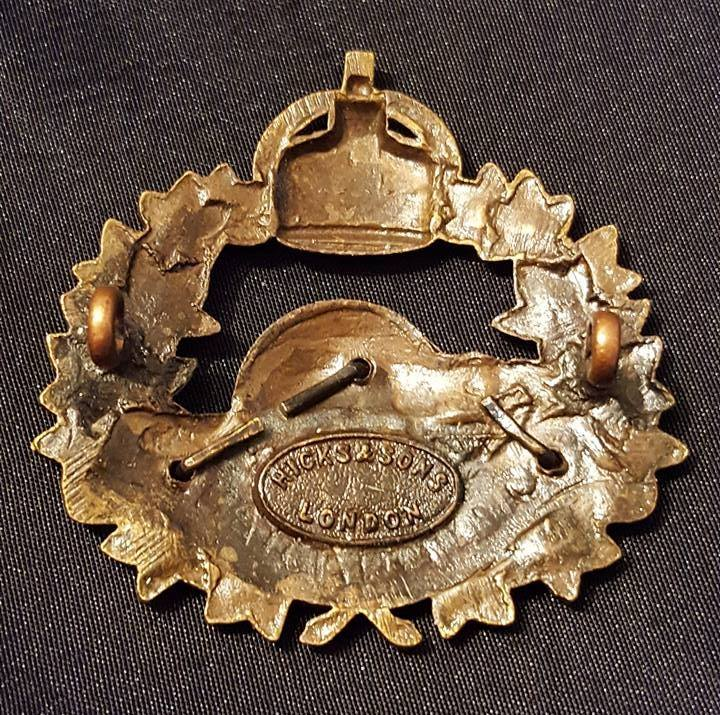 10th Canadians Officers Cap Badge 19113710
