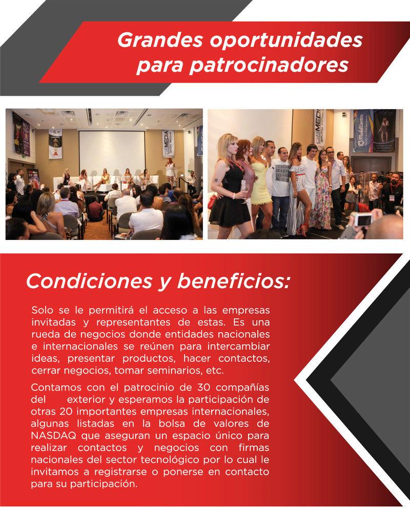 ¡Invitación al evento empresarial LALEXPO! Brochu11