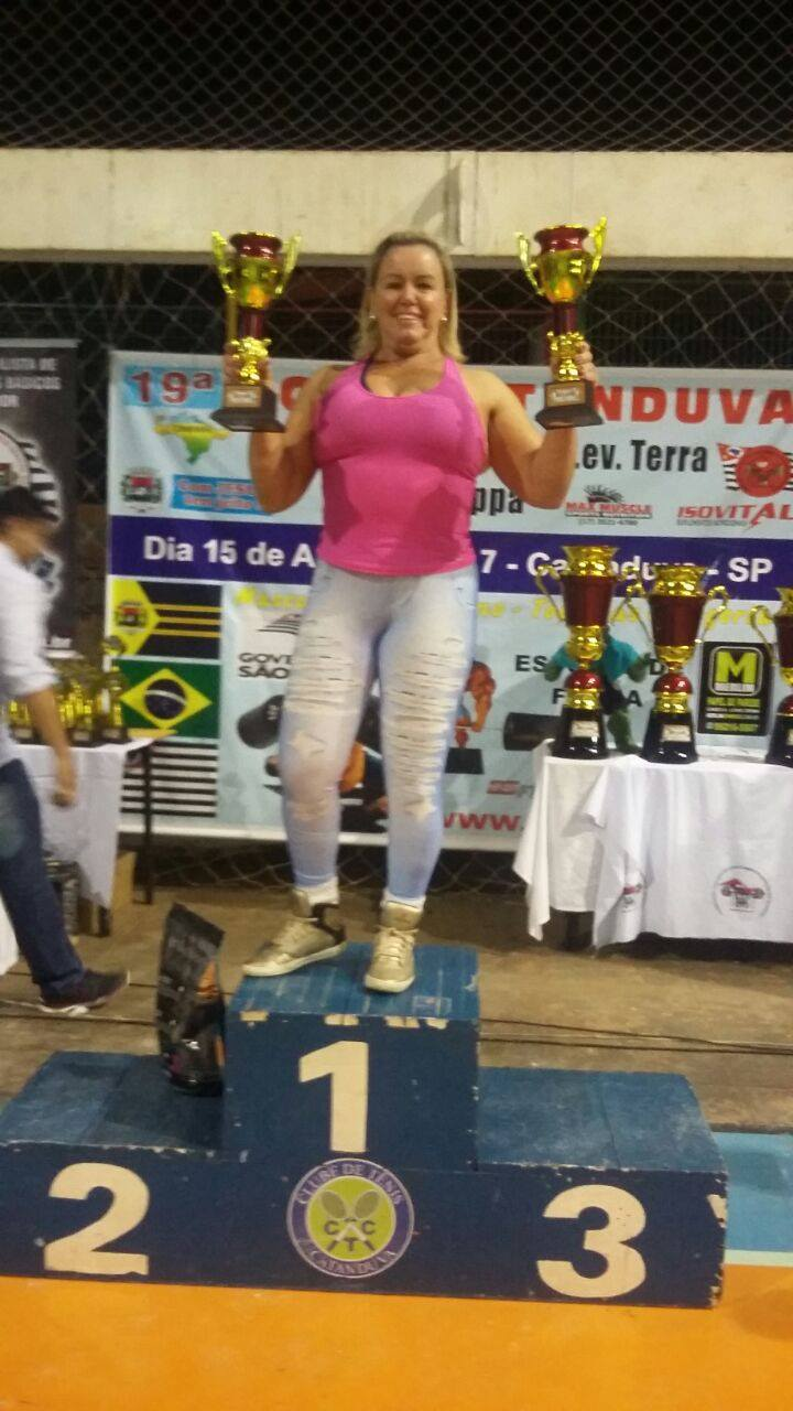 campeonato -  Ana Maria Gatin - classificada para o Campeonato Brasileiro de Supino  Gatin-10